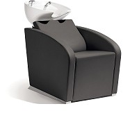 Sibel Elegantia- Backwash Unit Complete / Chair Black