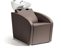 Sibel Elegantia- Backwash Unit Complete / Chair Brown