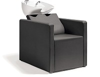 Sibel Relaxatio- Backwash Unit Complete / Chair Black