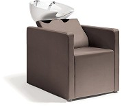 Sibel Relaxatio- Backwash Unit Complete / Chair Brown