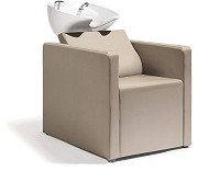 Sibel Relaxatio- Backwash Unit Complete / Chair Beige