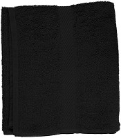 Fripac Walk-Terry Towel Black 50 x 90 cm